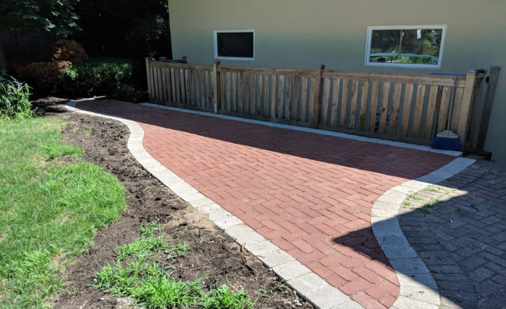 Hardscaping - paving